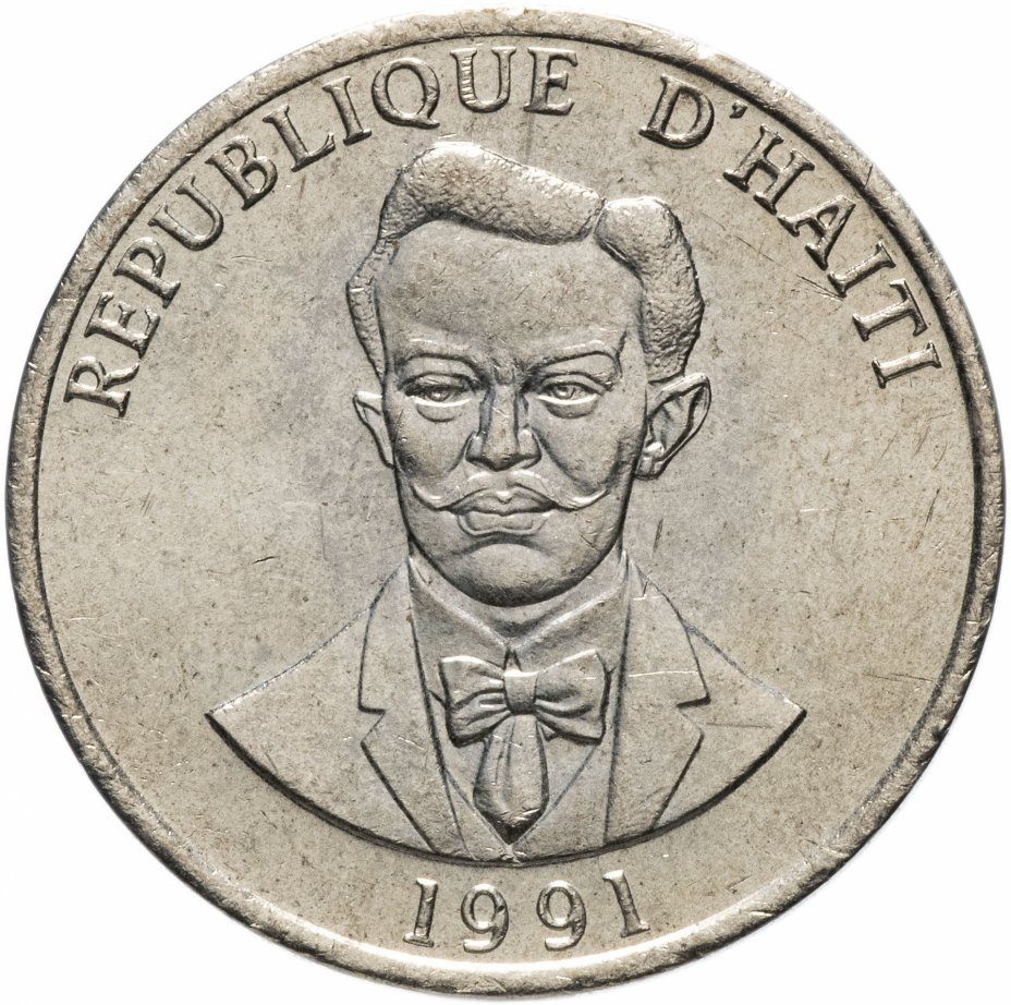 купить Гаити 20 сентиме 1991 Шарлемань Перальт