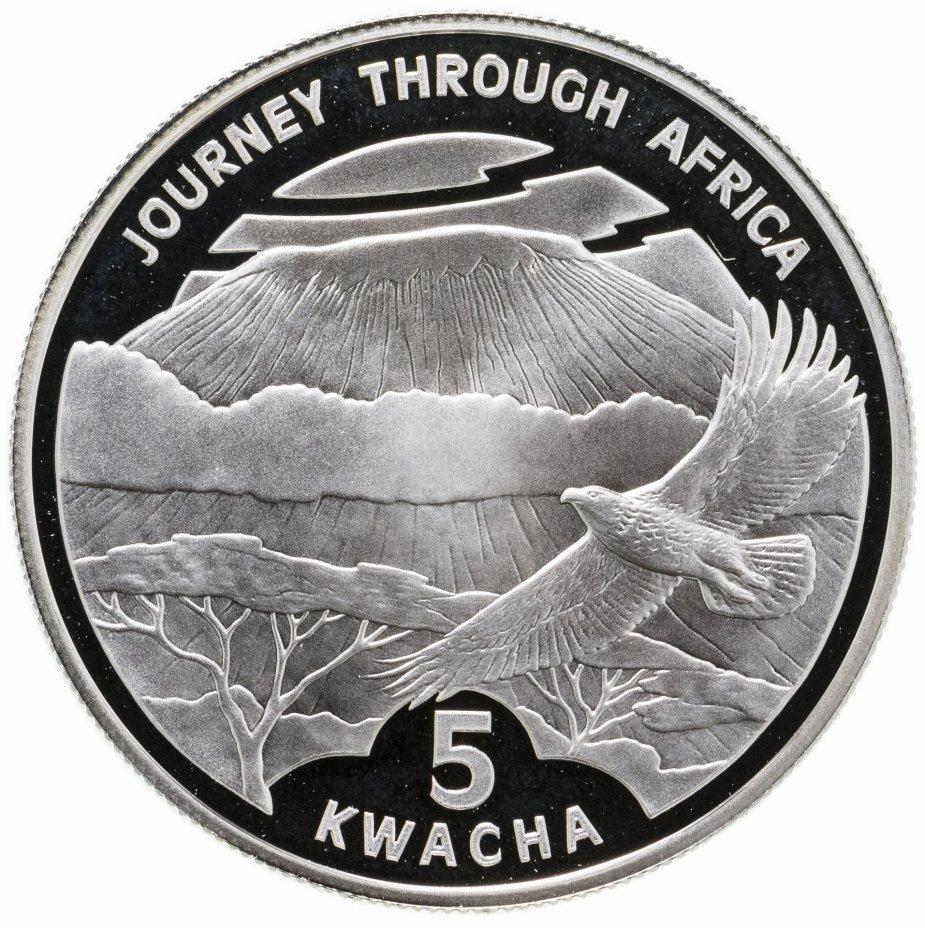 """купить Малави 5 квача 2006 """"Путешествие по Африке - Каньон"""""""