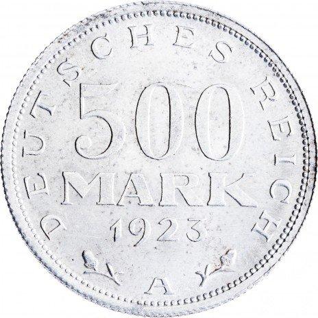купить Германия, Веймарская республика 500 марок 1923