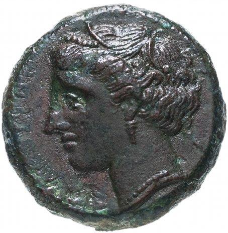 купить Тираны Сиракуз, Гиерон II, 275-215 годы до Р.Х., АЕ20.