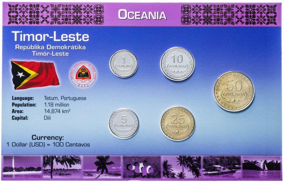 купить Восточный Тимор набор монет 2003-2006 (5 монет в буклете)