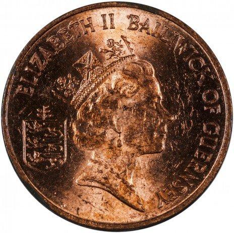 купить Гернси 1 пенни 1985