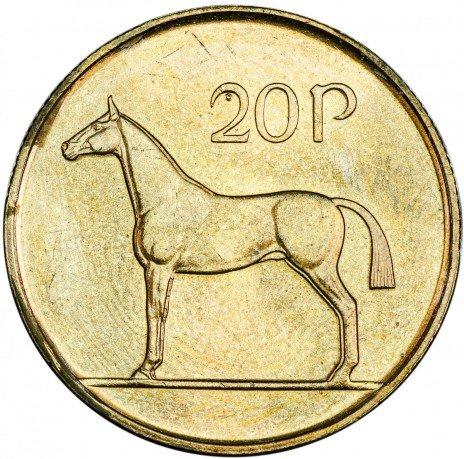 купить Ирландия 20 пенсов 1986