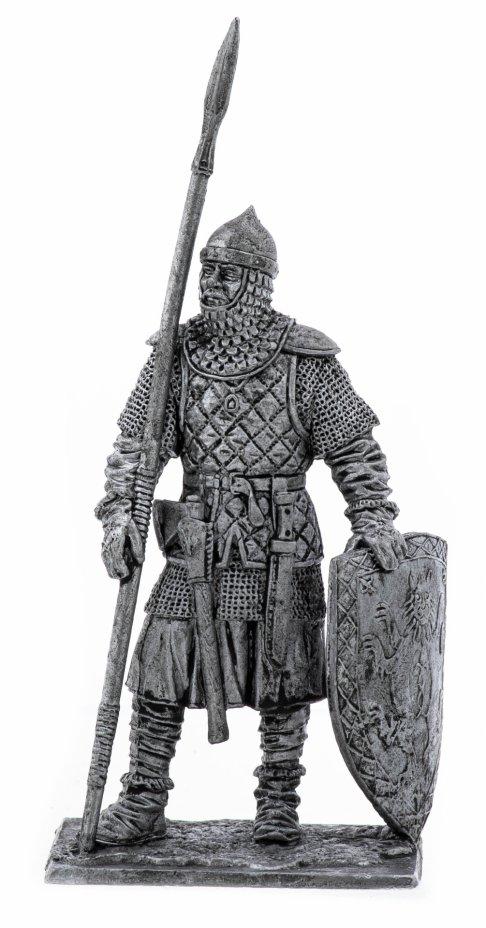 купить Оловянный солдатик, Русский пеший воин, 14-15 век, Россия, 2021