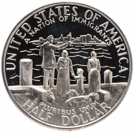 """купить США 50 центов 1986 """"100 лет Статуе Свободы"""""""