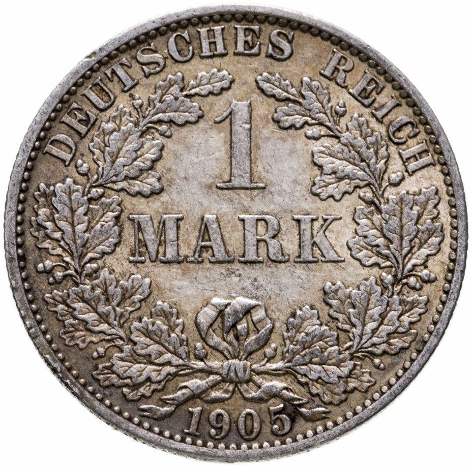 """купить Германия, Германская империя, 1марка 1905 """"A"""" - Берлин"""