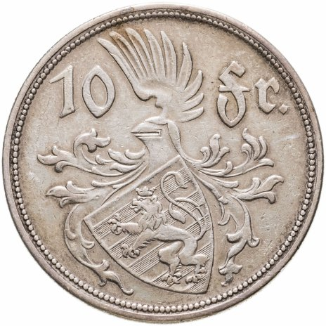 купить Люксембург 10 франков (francs) 1929