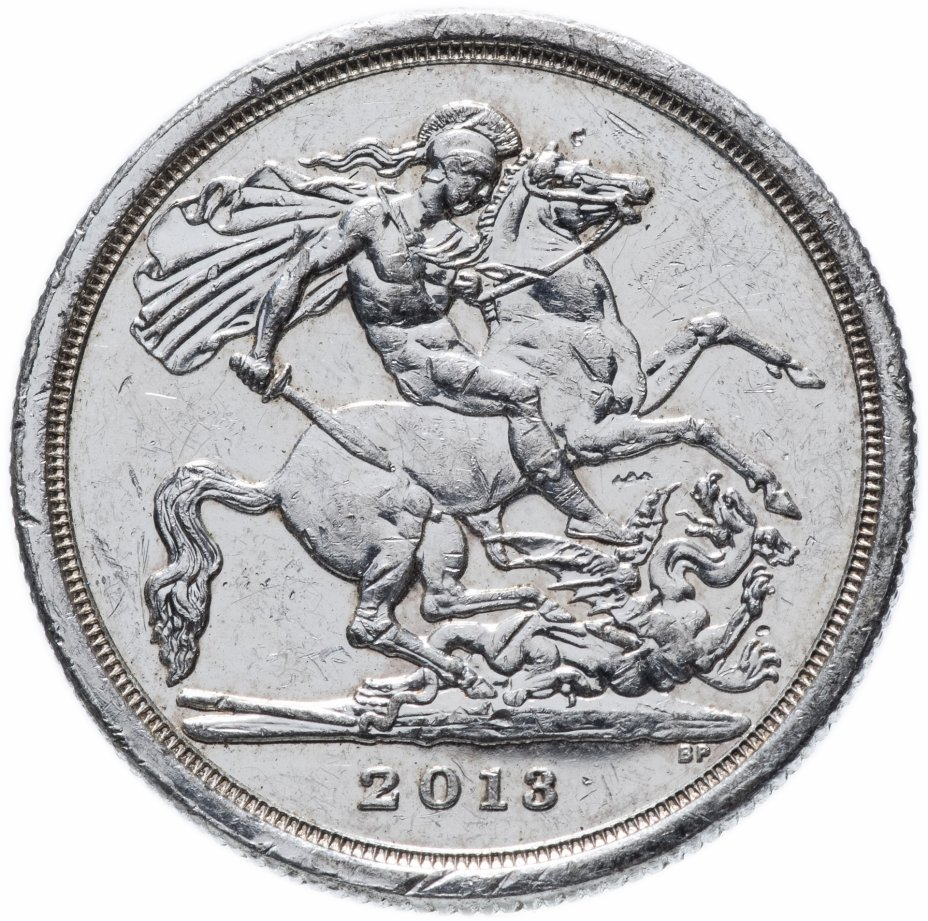 купить Великобритания 20 фунтов 2013 Святой Георгий и дракон