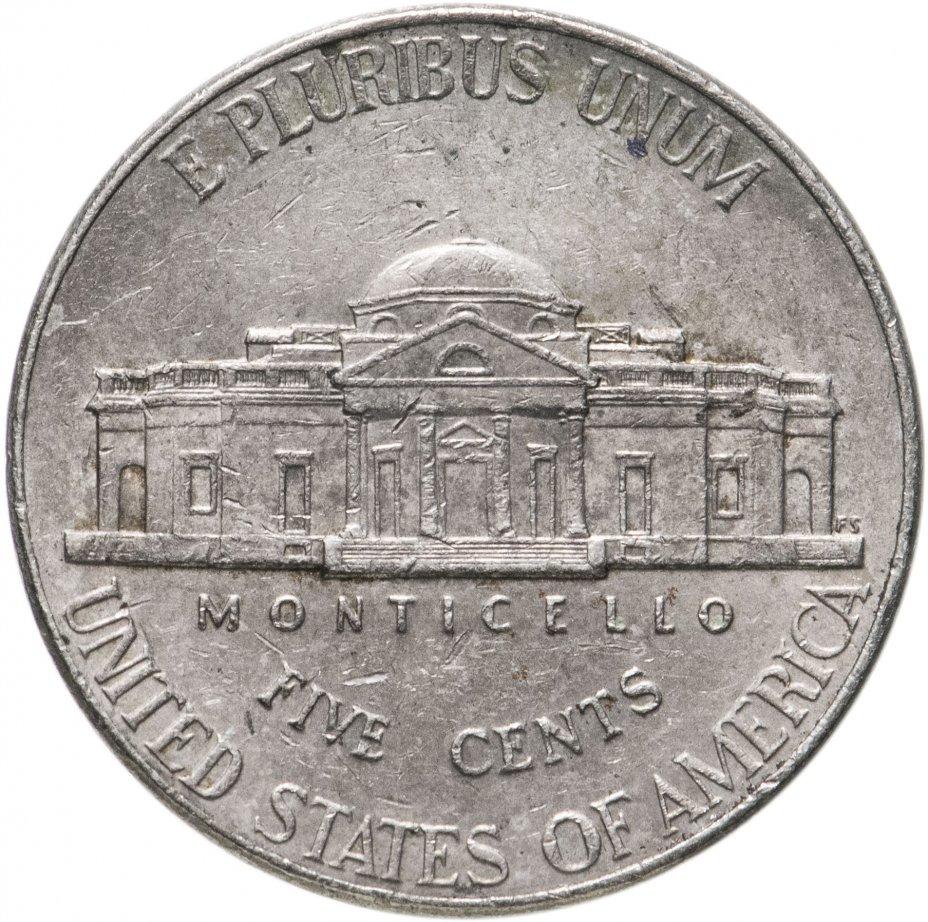 купить США 5 центов (cents) 2006-2021, случайная дата и монетный двор