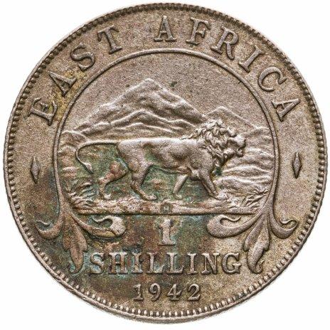 """купить Британская Восточная Африка 1 шиллинг (shilling) 1942 Знак монетного двора: """"H"""" - Хитон, Бирмингем"""