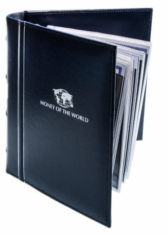 купить Альбом с банкнотами стран мира (24 банкноты)