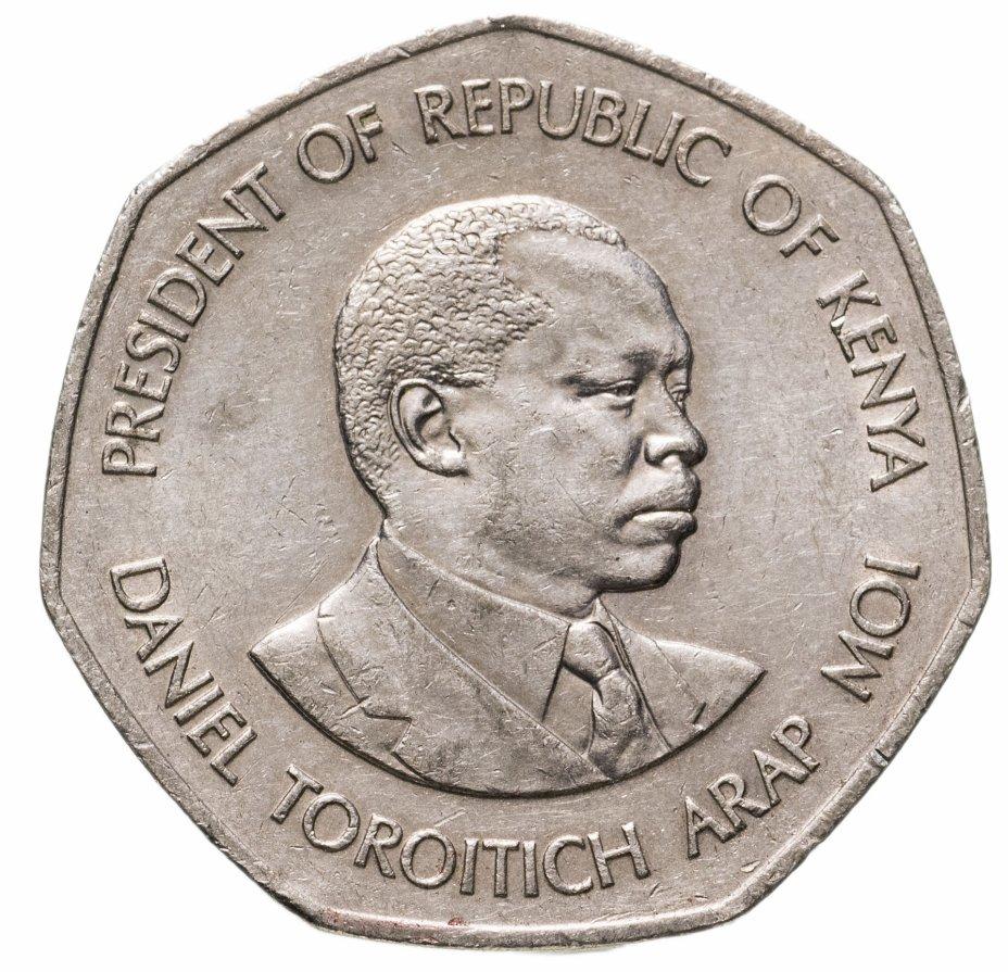 купить Кения 5 шиллингов (shilling) 1985