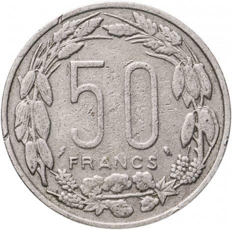 купить Экваториально-Африканские Штаты 50 франков 1963