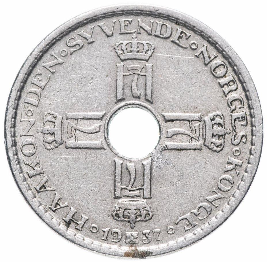 купить Норвегия 1 крона 1937
