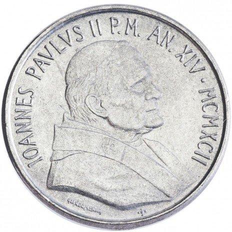 купить Ватикан 50 лир 1992