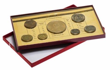 купить Монако годовой набор из 7 монет 1975 в буклете