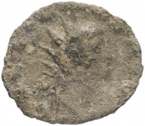 купить Римская Империя Клавдий II Готский 268-270 гг антониниан (реверс: Фортуна стоит влево, в руках руль и рог изобилия)