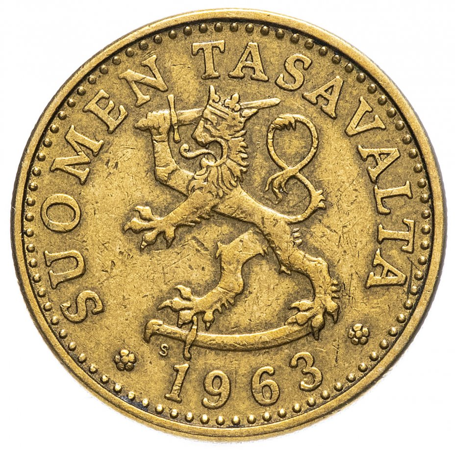 купить Финляндия 20 пенни  1963-1990 гг.