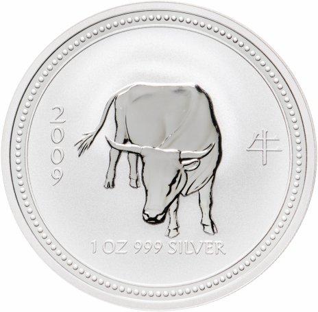 купить Австралия 1 доллар 2007 «Восточный календарь-год Быка»