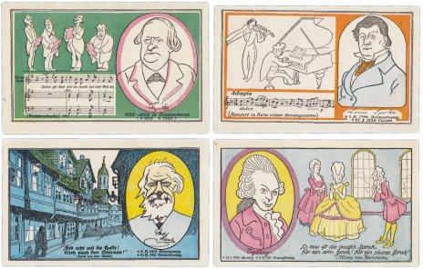 купить Германия (Брауншвейг: Брауншвейг) набор из 4-х нотгельдов 1920 (158.1а/B1)