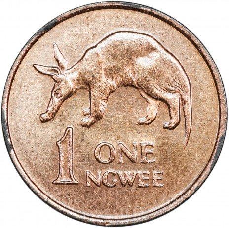 купить Замбия 1 нгве 1983