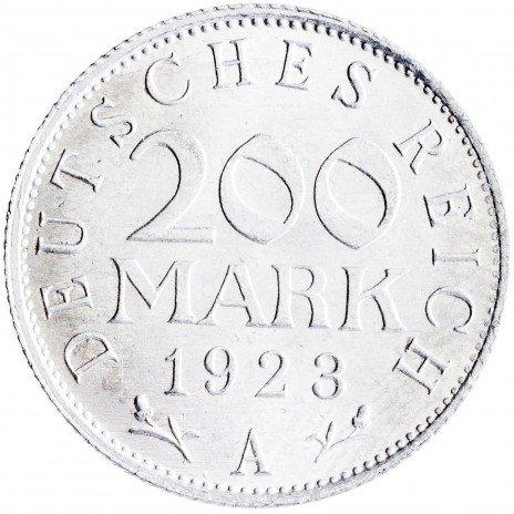 купить Германия, Веймарская республика 200 марок 1923