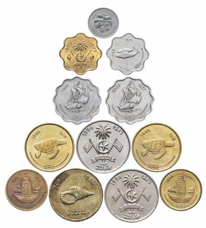 купить Мальдивы набор из 12 монет 1960-1996