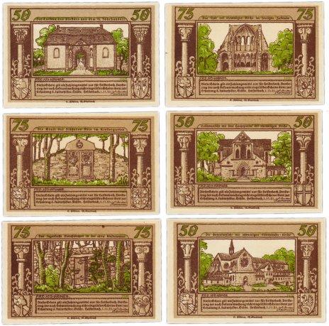 купить Германия (Вестфалия: Хайстербах) набор из 6 нотгельдов 1921