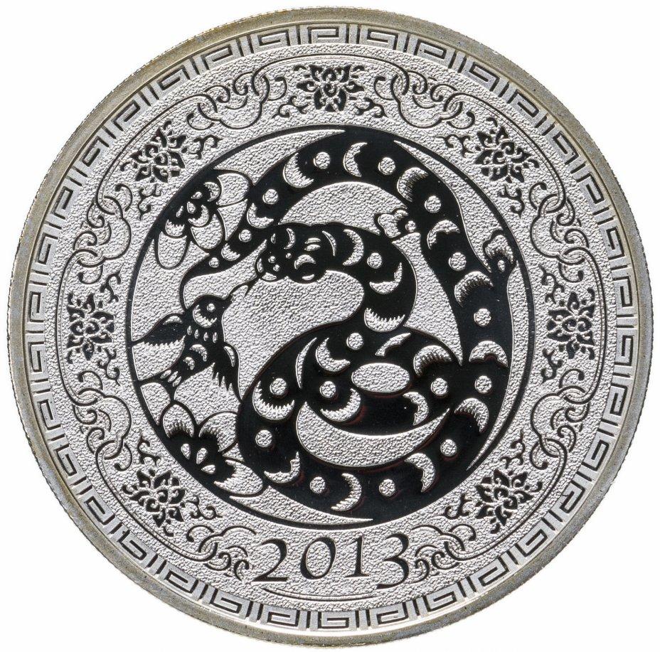 """купить Токелау 5 долларов 2013 """"Китайский гороскоп - Год змеи"""", с сертификатом"""