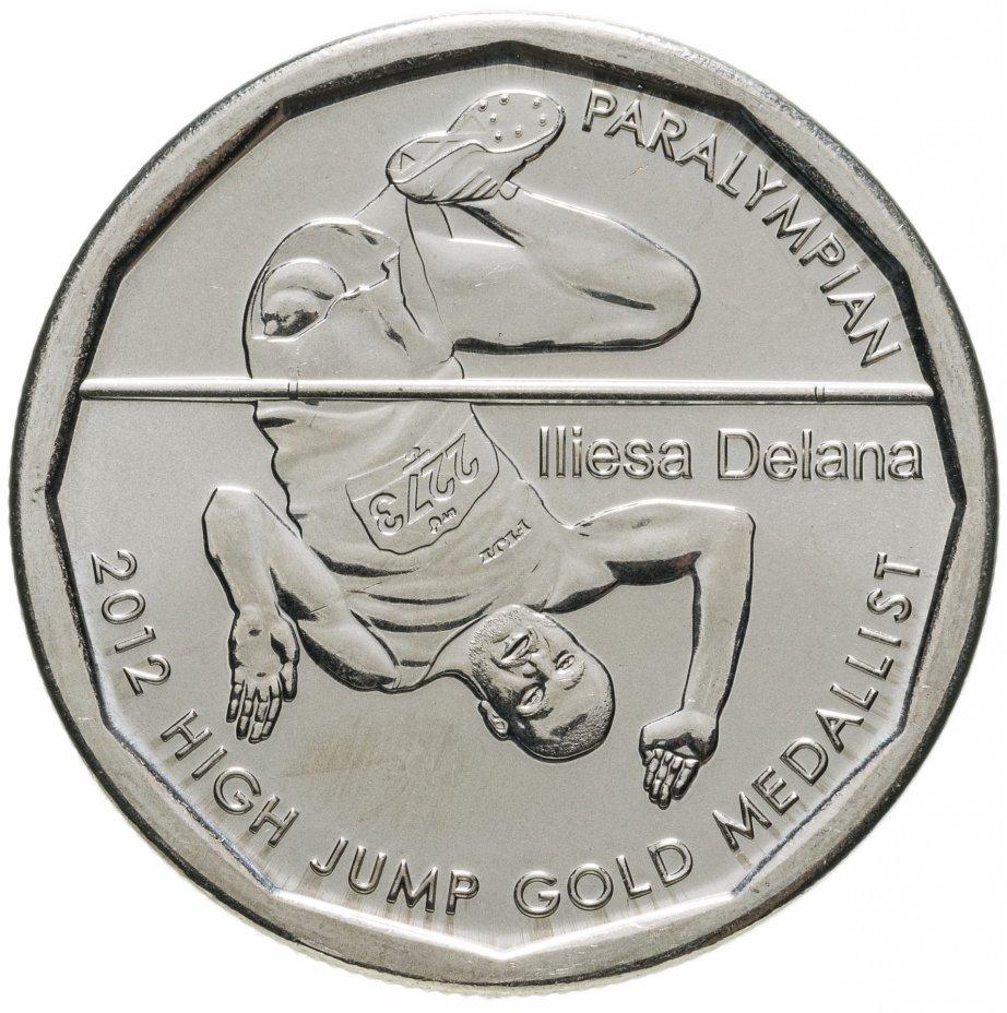 """купить Фиджи 50 центов (cents) 2013 """"Паралимпиада 2012 - Илиеза Делана"""""""