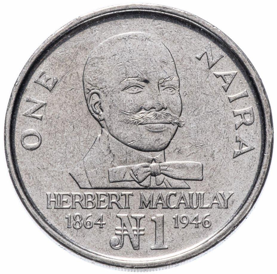 купить Нигерия 1 найра 1991