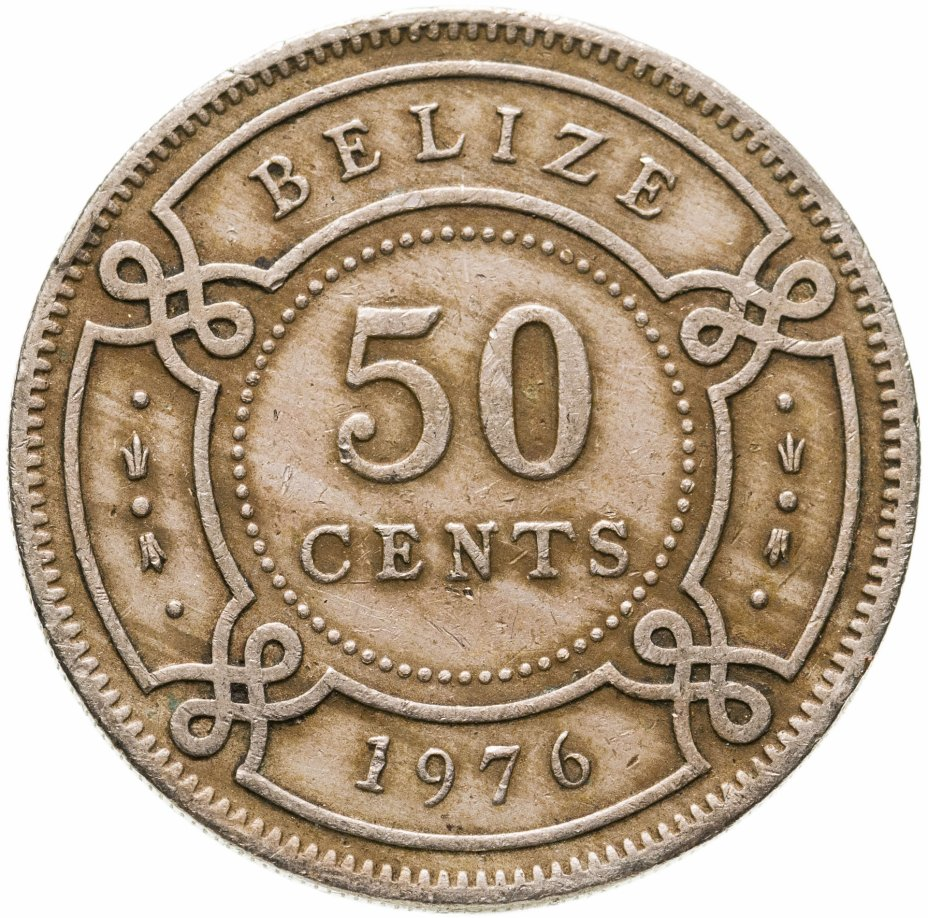 купить Белиз 50 центов (cents) 1976
