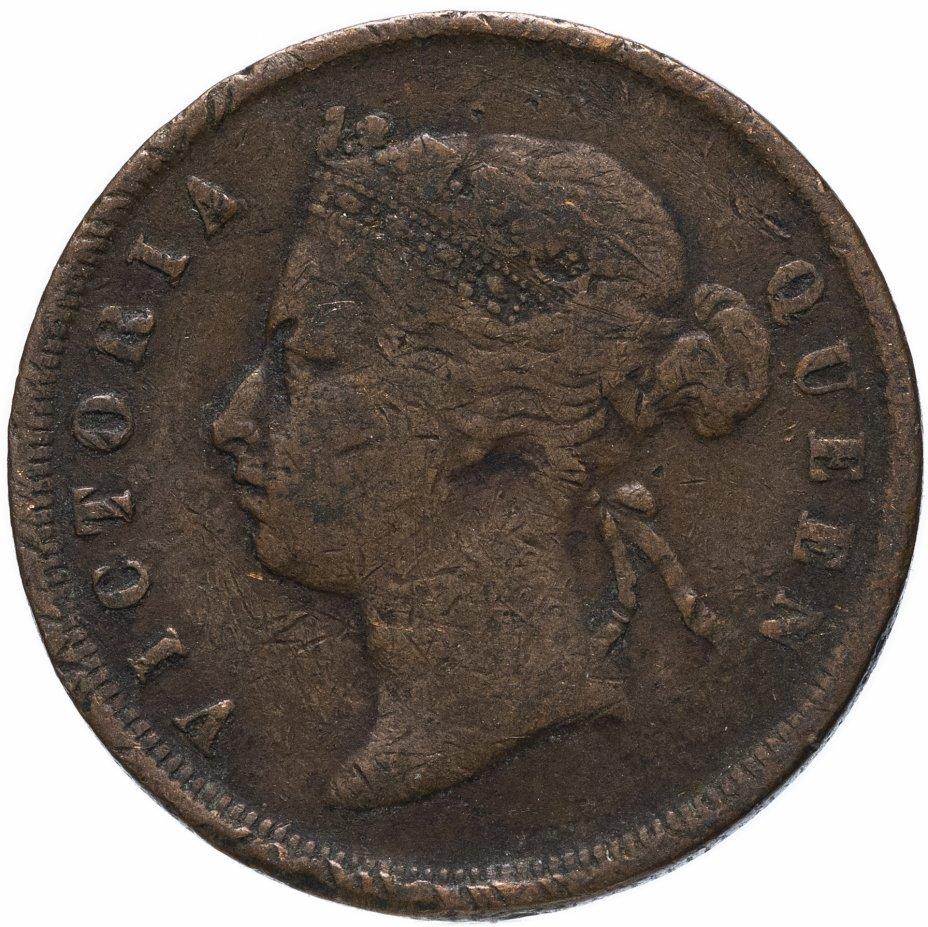 купить Стрейтс Сетлментс 1 цент (cent) 1887