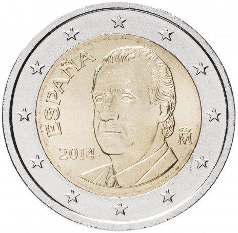 купить Испания 2 евро 2014