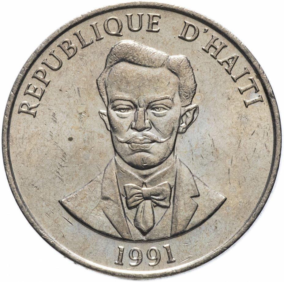 купить Гаити 50 сентиме 1991 Шарлемань Перальт