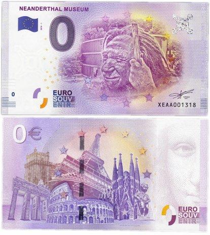 "купить 0 евро (euro) ""Неандертальский музей"" 2018 1-серия (XE AA-1)"
