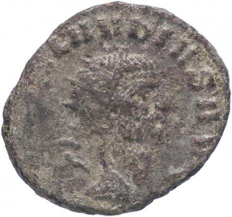 купить Римская Империя Клавдий II Готский 268-270 гг антониниан (реверс: Провиденция стоит влево, в руках жезл и рог изобилия)