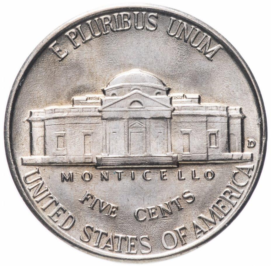 купить США 5 центов 1940 D Jefferson Nickel