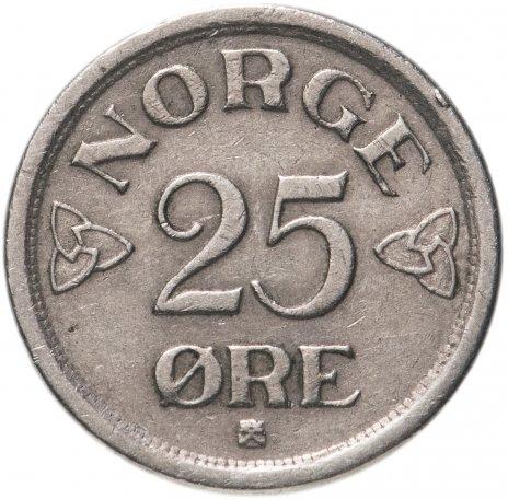 купить Норвегия 25 эре (ore) 1952-1957, случайная дата