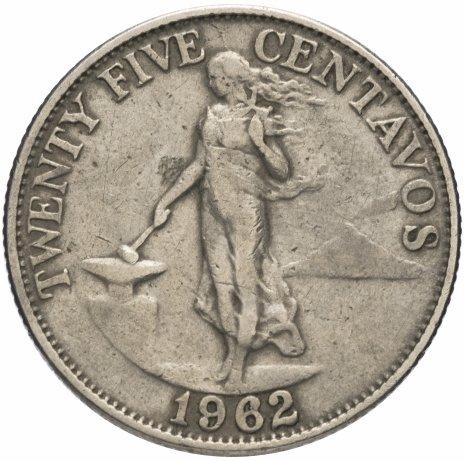 купить Филиппины 25 сентаво (centavos) 1958-1966, случайная дата