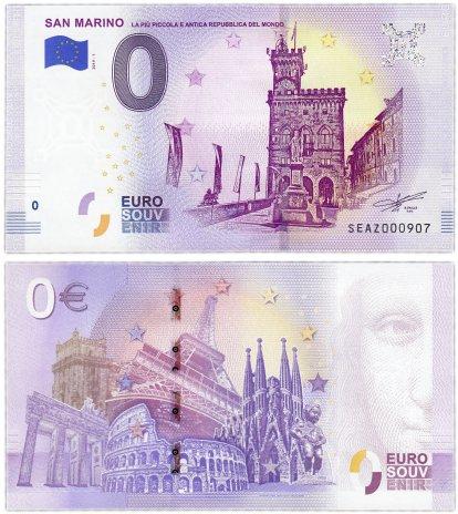 купить 0 евро (euro) «Сан-Марино» 2019 (NEW)