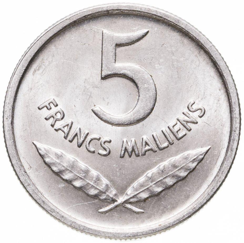купить Мали 5 франков (francs) 1961