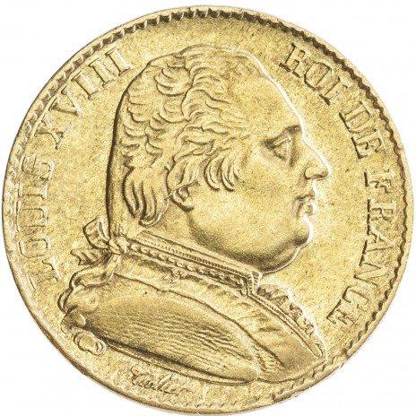 купить Франция 20 франков 1815