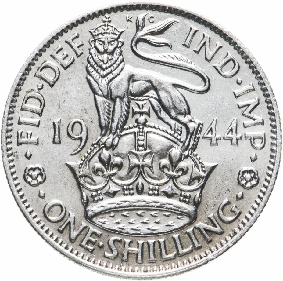 купить Великобритания 1 шиллинг 1944