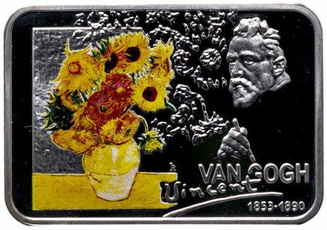 """купить Остров Ниуэ 1 доллар 2007 """"Известные художники - Винсент Ван Гог"""" с сертификатом"""