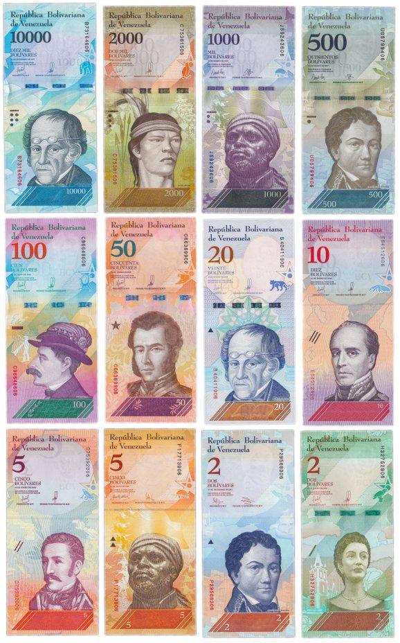 купить Венесуэла Набор банкнот 2013-2018 (12 штук) Экзотические животные