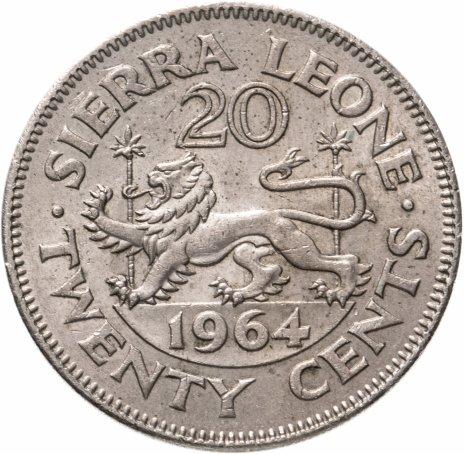 купить Сьерра-Леоне 20 центов (cents) 1964