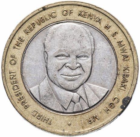 """купить Кения 40 шиллингов (shillings) 2003 """"40 лет Независимости"""""""
