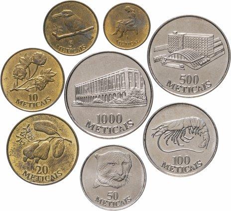 купить Мозамбик набор из 8 монет 1994