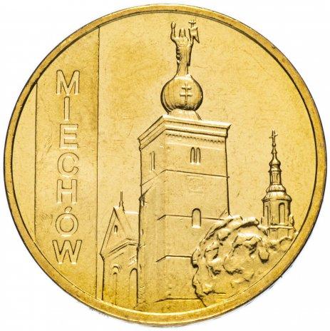 """купить Польша 2 злотых 2010 """"Мехув (Miechow)"""""""